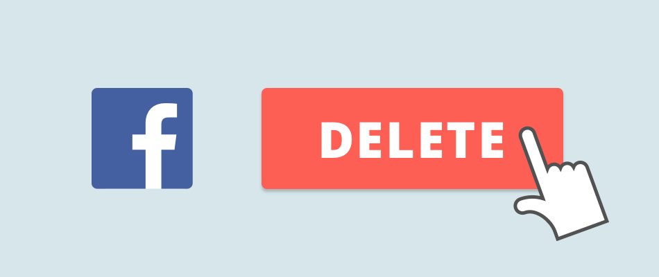 Delete facebook account banner